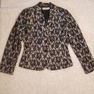 Tahari ASL Lace Blazer size 6